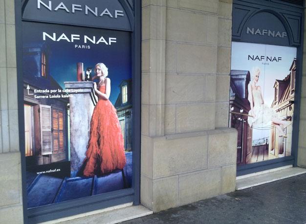 Naf-Naf Retroiluminado